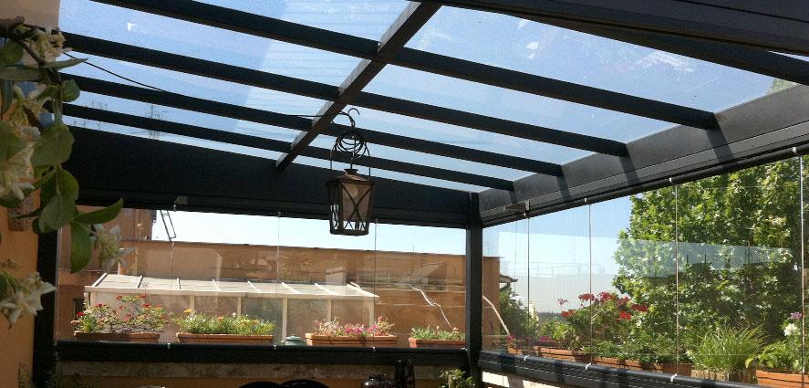 Serramenti in vetro per verande - TSH Service