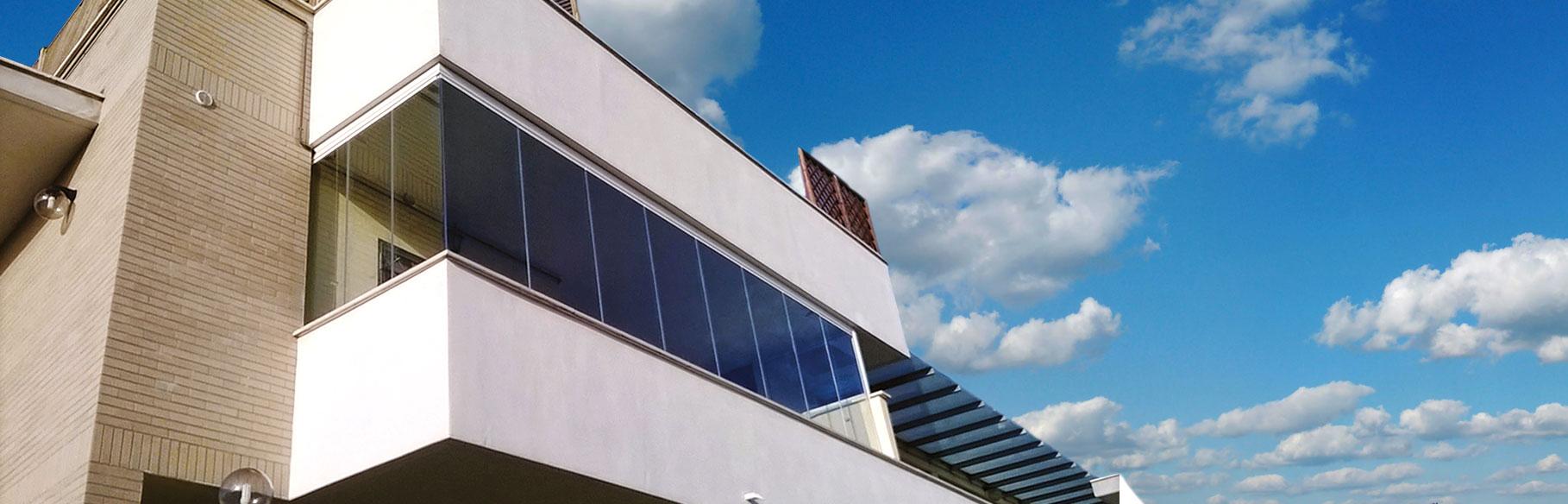 Pareti in vetro e vetrate scorrevoli - TSH Service