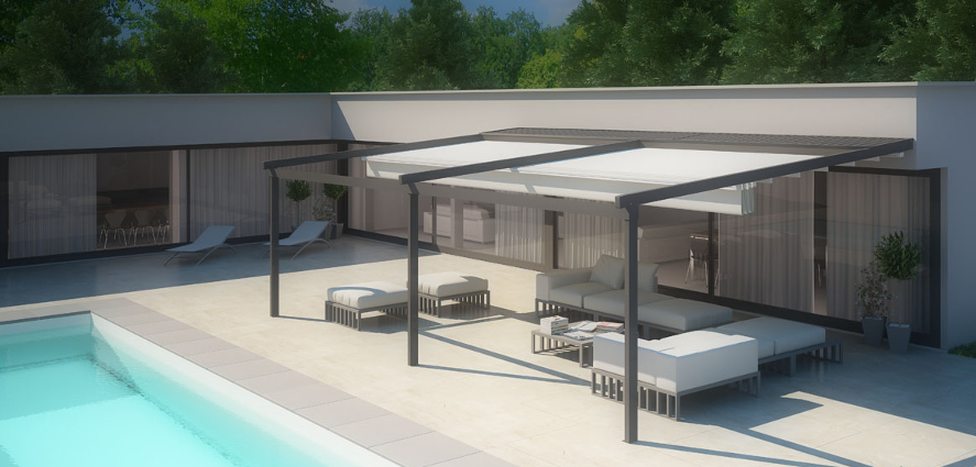 Tenda per piscina